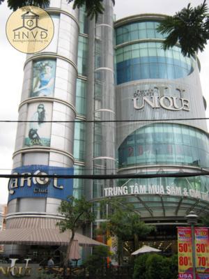 Rạp Đại Lợi hiện nay là trung tâm mua sắm giải trí Unique