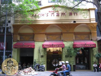 Rạp Majestic hiện nay là nhà hàng Maxim' Nam An