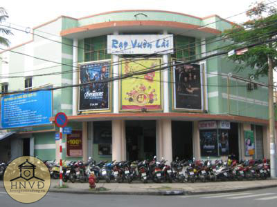 Rạp Mỹ Đô ngày nay là rạp chiếu bóng Vườn Lài