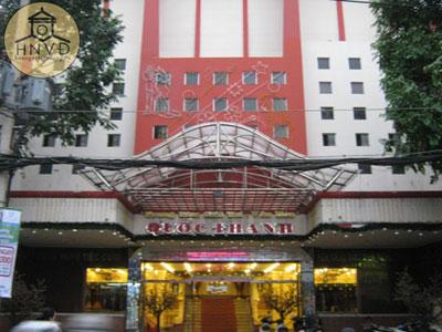 Rạp Quốc Thanh hiện nay trở thành Trung tâm giải trí văn hóa Quốc Thanh