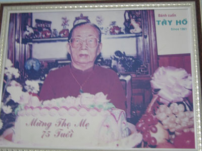 Bà Trần Thị Cà