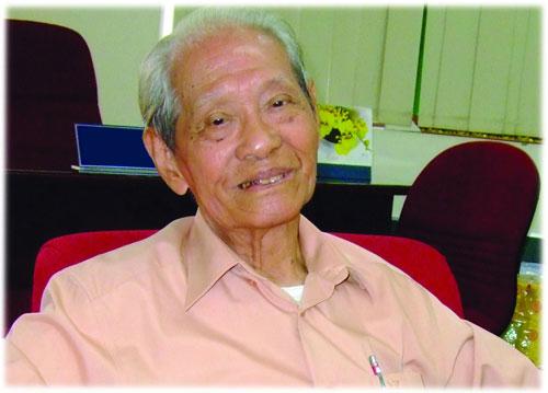 Nhà báo lão thành Tống Hồ Cầm